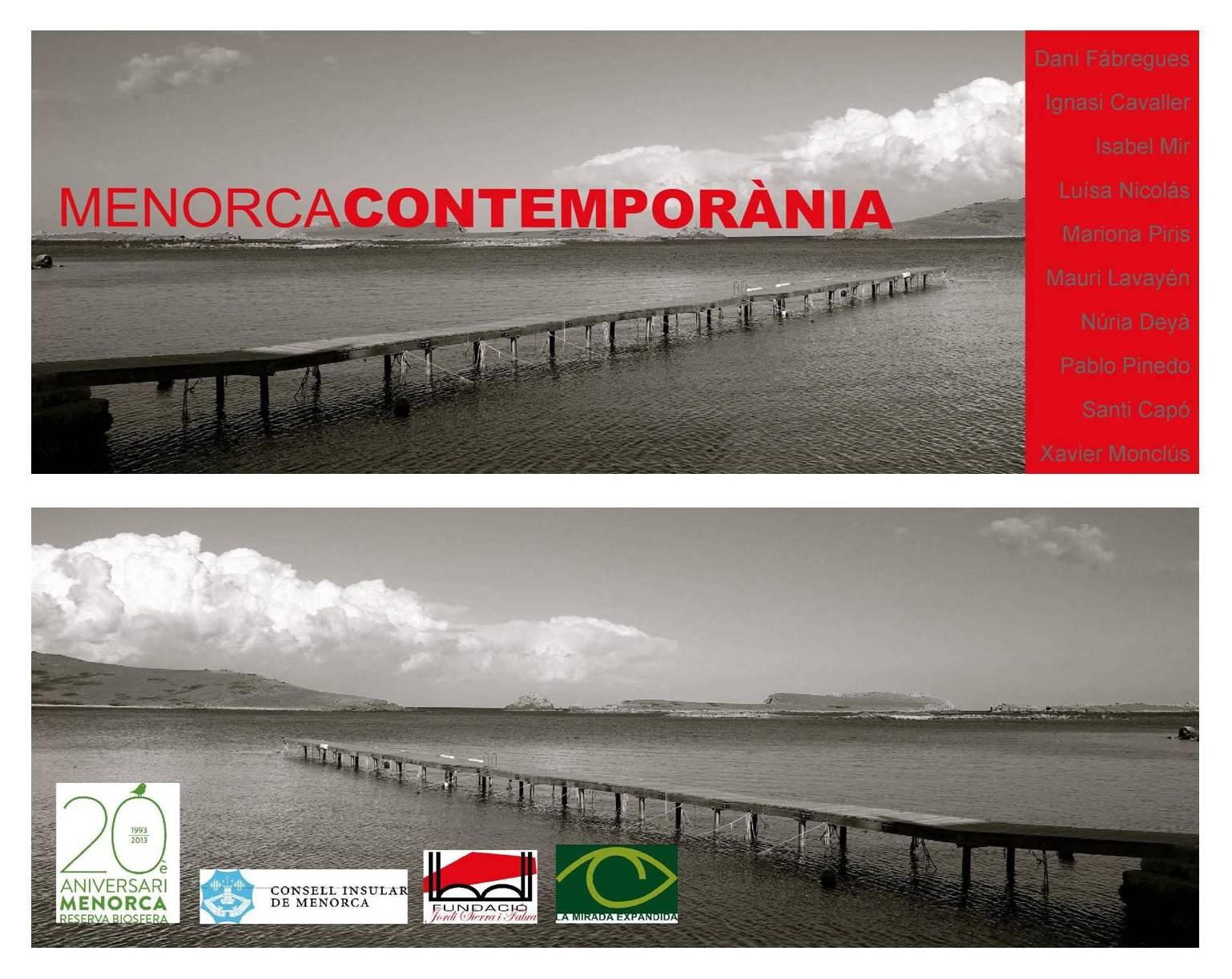 Contemporary Menorca exhibition in Barcelona