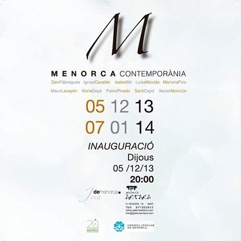 Contemporary Menorca in Maó