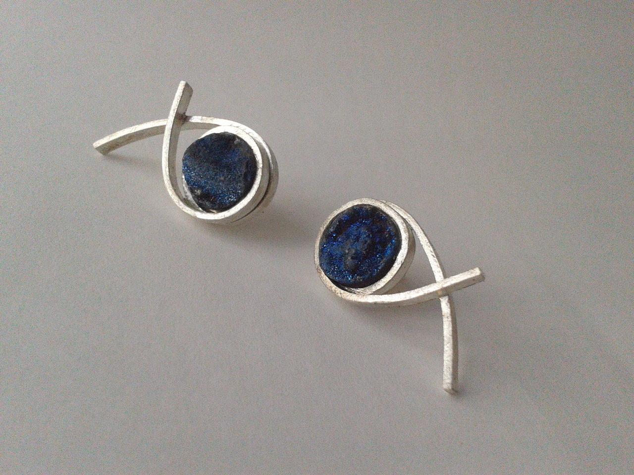 BARANA earrings unique piece