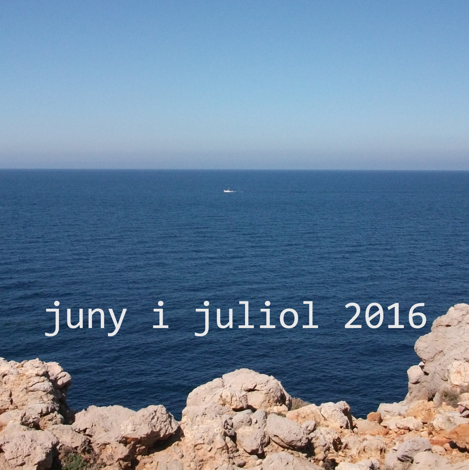 June and July 2016 at the workshop